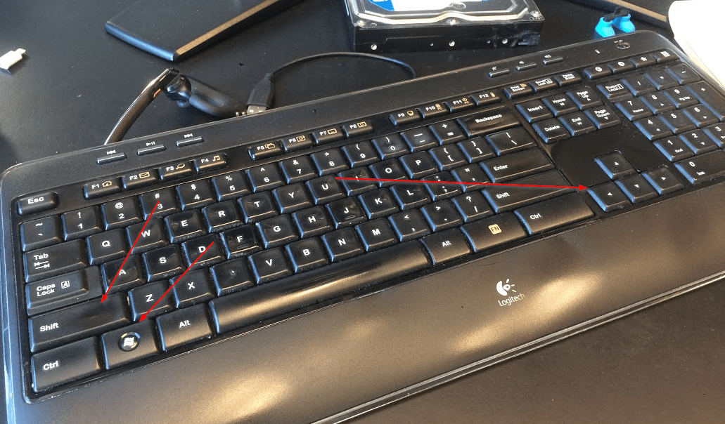 Keyboard Shortcut Win Shift Right Left - Windows 10 Tip: How To Quickly Move One Window from One Screen to Another