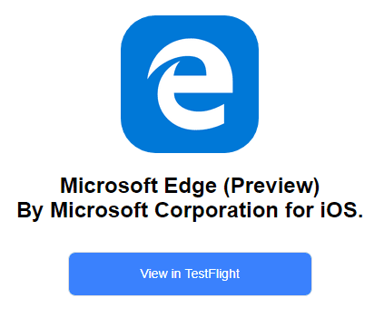 Microsoft Corporation has invited you to test  Microsoft Edge Preview  kent@ 2017 10 14 22 53 19 - How To Start Testing Microsoft Edge Preview on iOS