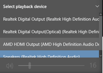 2017 11 07 2130 - Realtek Switch Audio Output Between Back vs Front Panel On Desktop