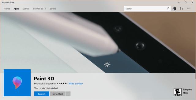 Store - Paint 3D