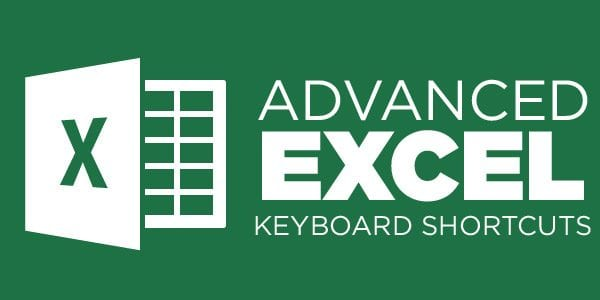 Excel Master Keyboard Shortcuts 600x300 - Excel Keyboard Shortcuts - Master Cheat Sheet