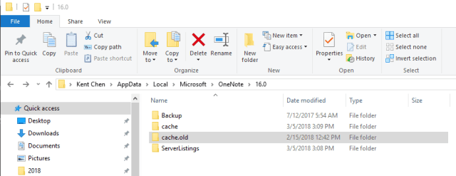 OneNote cache location - How To Quickly Fix OneNote 2016 Search Stopped Working Issue