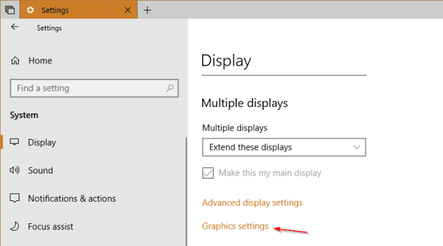 Windows 10 Tip: How To Set GPU Preferences Per App