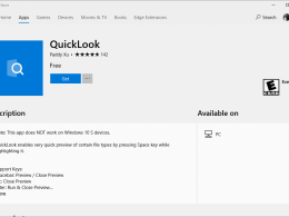 Bring Mac's QuickLook Feature to Windows 10