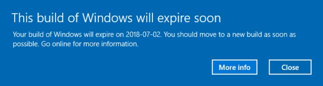 2018 07 09 1022 - Keep Windows 10 Insider Build Updated or VirtualBox VM Will Not Start