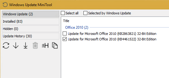 image 13 - Useful Free Tool - Windows Update MiniTool