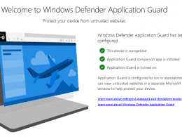 Microsoft Brings Windows Defender Application Guard to Chrome and Firefox