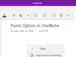 OneNote Trick: How To Always Paste Plain Text