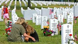 Remembering our lost loved ones on Memorial Day, Service and Family