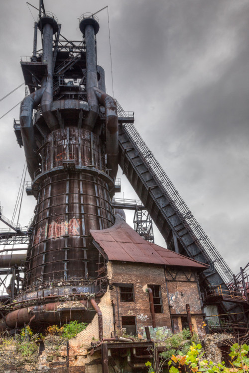 Carrie Furnace. Photo by Dave Hammaker