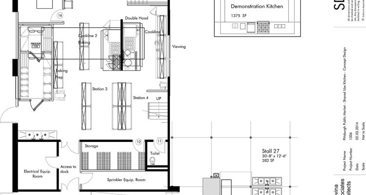 Commercial Kitchen Floor Plan
