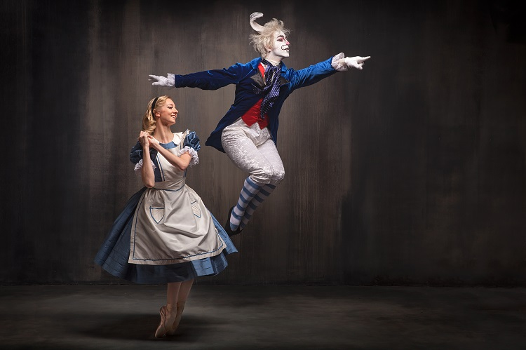 Alice in Wonderland. Image courtesy of Pittsburgh Ballet Theatre.