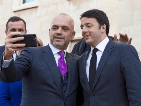 Renzi amici Albania