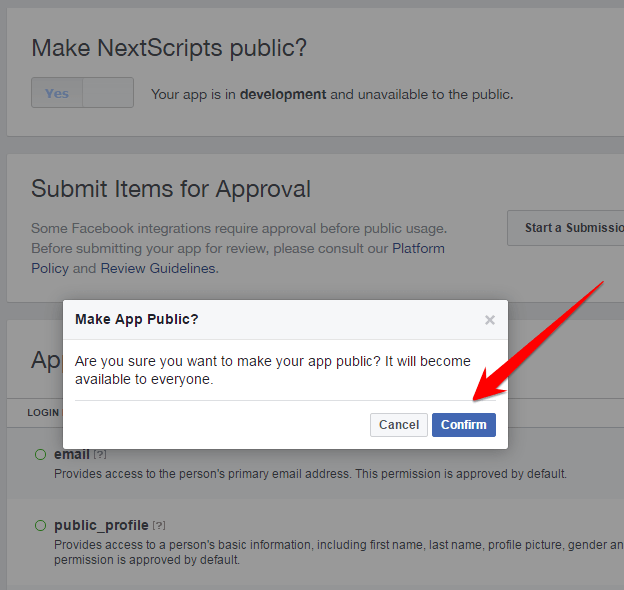 Face book App ID