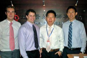 Richard Lockridge United States 2010 Davidson College Law Internship In Shanghai 001