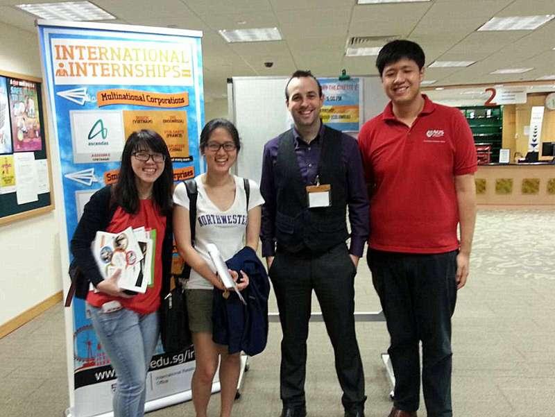 NSC at the Global Experience NUS Career Fair 2015