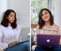 Students From The University Of Texas At Austin, Irene Trevino And Tatiana Salazar, Did Their 2018 Summer Internship At The Kyoto Design Lab