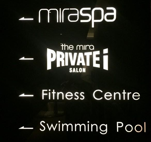 Mira Spa entrance
