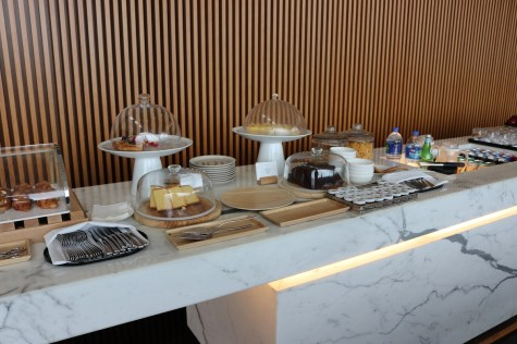 Buffet hors d'oeuvres - The Wing First Class lounge