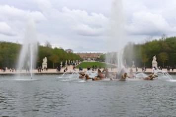Palace of Versailles Apollo fountain