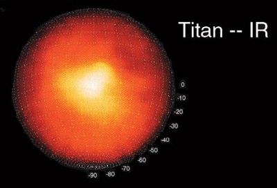 Keck-Teleskops Titan Berg
