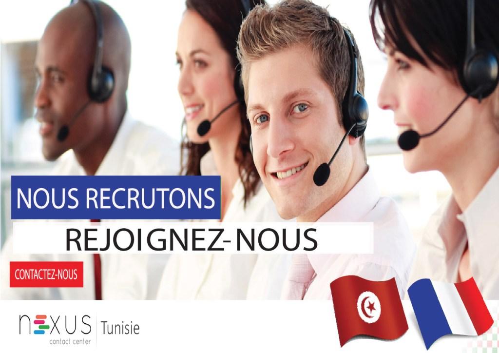 Centre d'appel Tunisie : recrutement de télé-enquêteurs