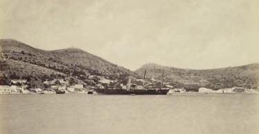 Francis Bedford: Το βασιλικό σκάφος στην Ιθάκη (2/6/1862) - Royal Collection Trust/© Her Majesty Queen Elizabeth II 2014.