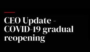 Nexway CEO Update Covid-19 Banner
