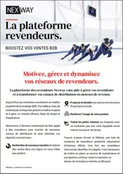 Brochure : La plateforme revendeurs