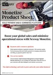 Monetize Product Sheet
