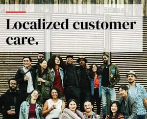 Localized customer care
