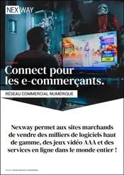 Brochure Connect pour les e-commerçants