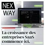 La croissance des entreprises SaaS commence ici.