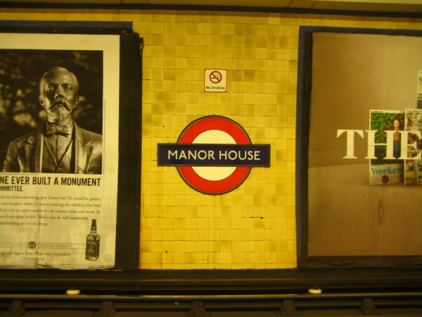 Manor House Station by Chriss Woo