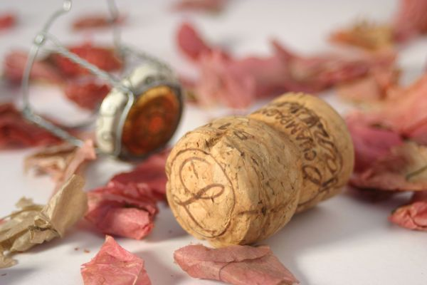 Champagne cork by Phil Wood Photo