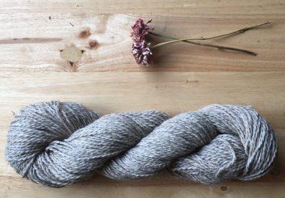 Nezinscot Grey Yarn