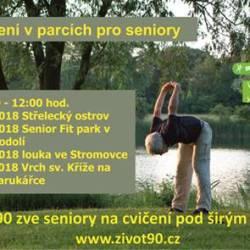 Cvičení v parcích - Život90