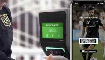 Ticketmaster to roll out NFC ticketing for iPhones and Apple