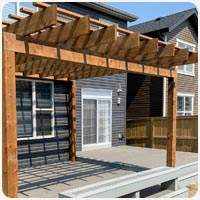 pergola rafter and strapping builders