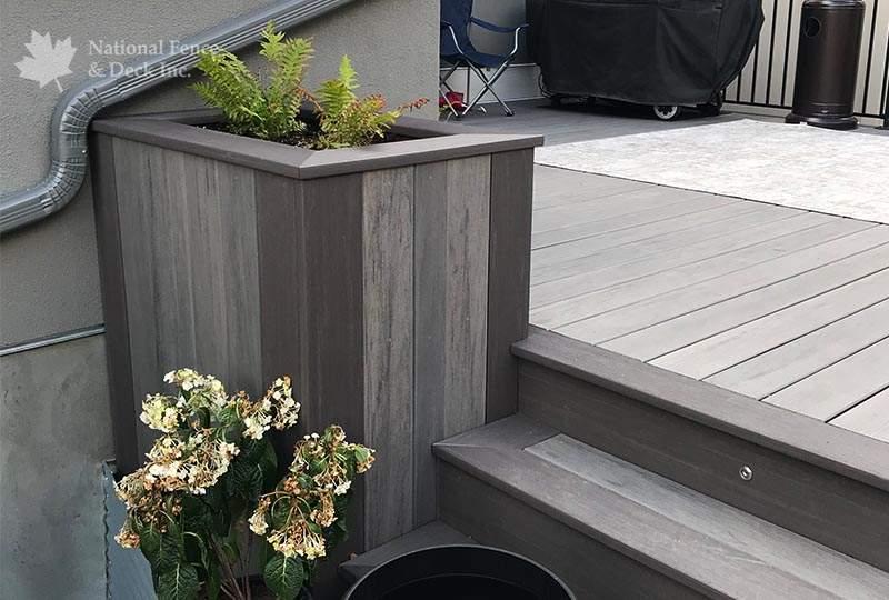 Elegant Timbertech composite deck