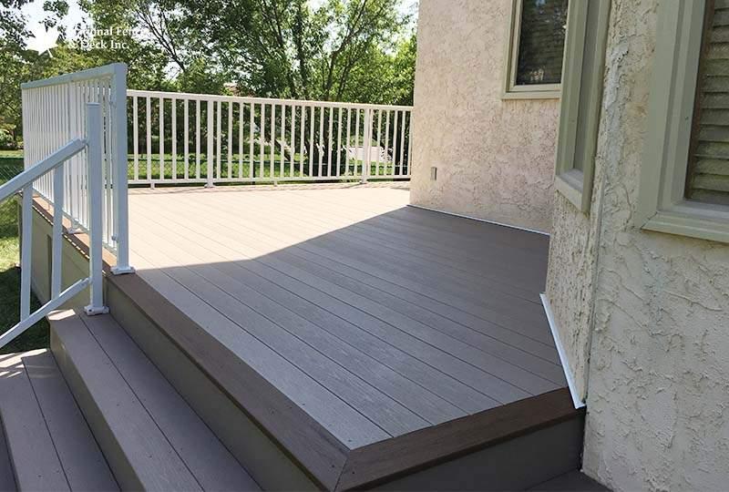 Timbertech Sandy Birch Composite Deck