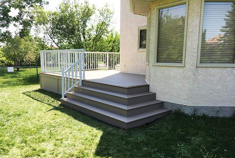 Timbertech Sandy Birch Composite Deck