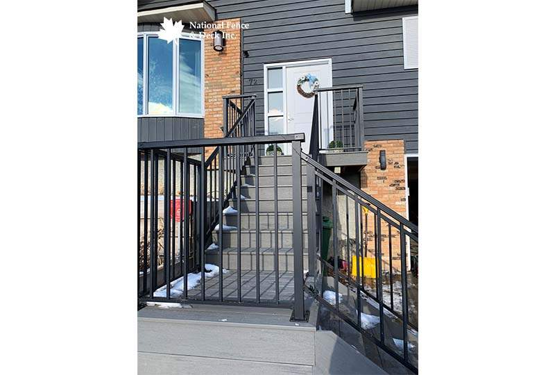 Front Entrance Composite Staircase