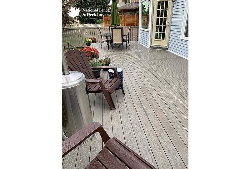 Timbertech Silver Maple Composite Deck