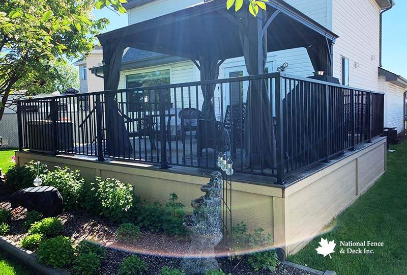 Timbertech Terrain Silver Maple Composite Deck