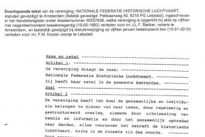 Screen Shot statuten NFHL