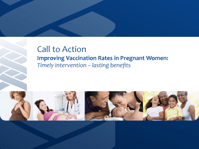 Improving Vaccination Rates in Pregnant Women (March 2014)