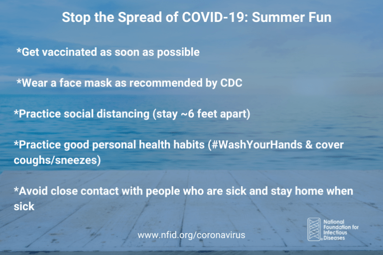 Stop the Spread Summer Fun July 2021