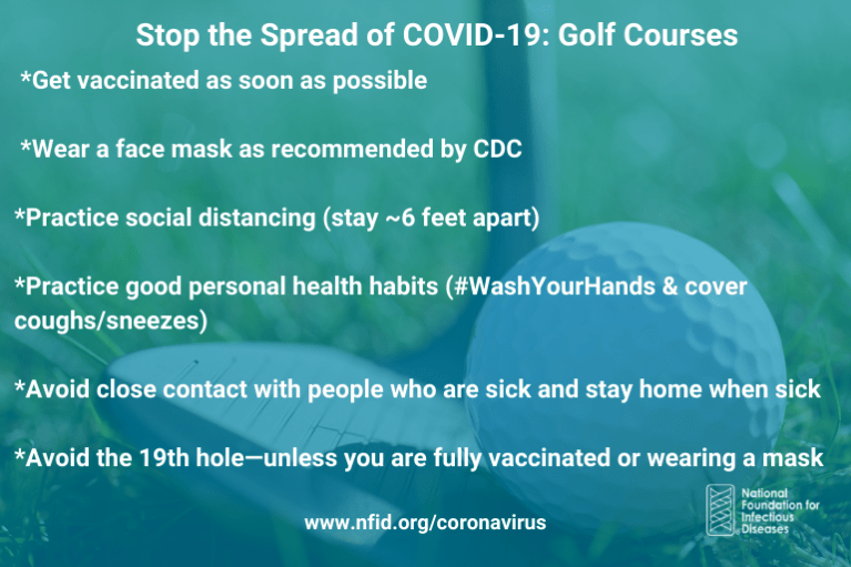 Stop the Spread Golf July 2021
