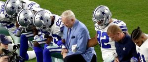 Jerry Jones Kneeling NFL